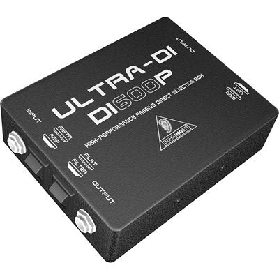 Direct Box Passivo Ultra-DI  DI600P  -  BEHRINGER