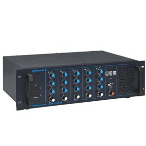 Mixer Amplificado OMXP-1070N 5 entradas 250 WRms, Linha 70V - ONEAL