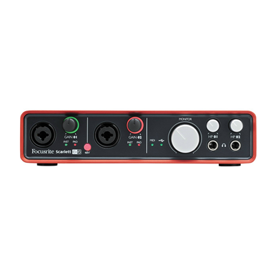 Interface De Áudio USB 2.0 FOCUSRITE Scarlett 6i6