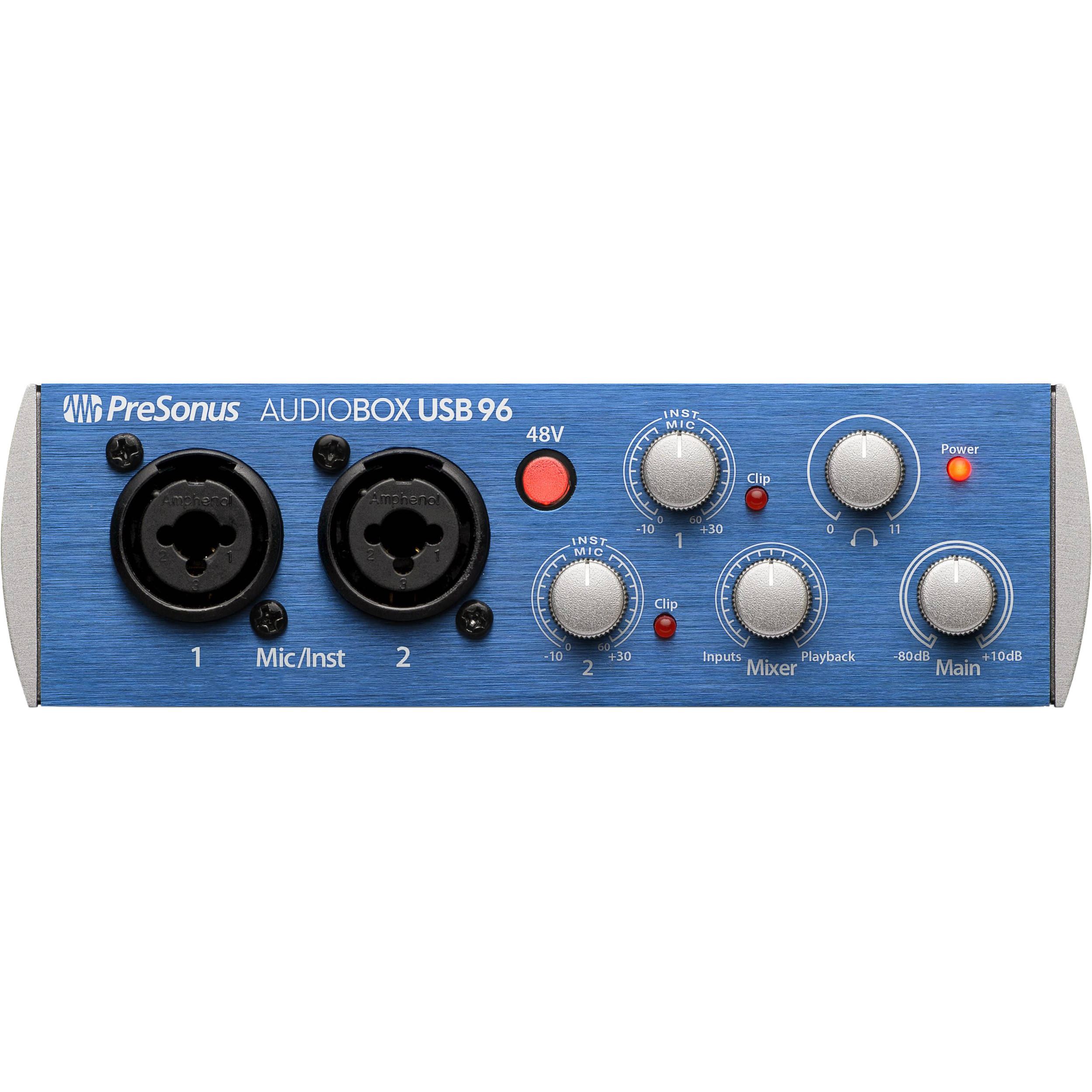 Interface de Áudio AUDIOBOX USB 96 - PRESONUS