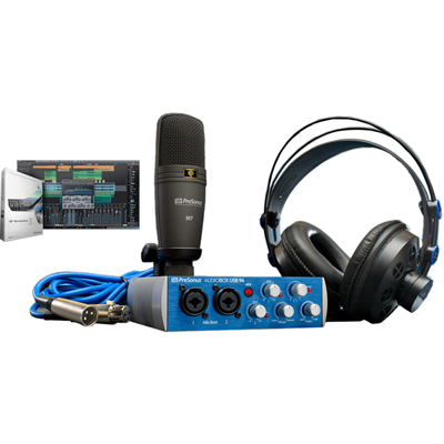 Kit de Gravação de Áudio AUDIOBOX USB 96 STUDIO - PRESONUS