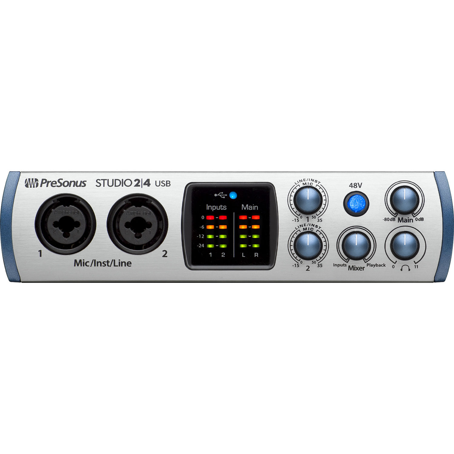 Interface de Áudio STUDIO 2/4 com USB - PRESONUS
