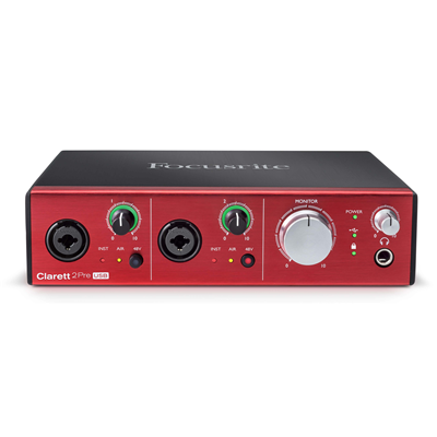 Interface de Áudio Clarett 2Pre USB - FOCUSRITE