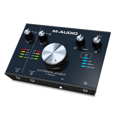 Interface M-TRACK 2X2M USB Midi - M-Áudio